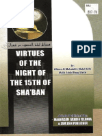 Virtues of the Night the 15th of Shaban by Malik Abdul Haqq Makki