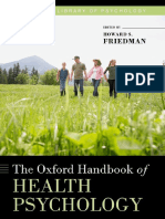 Howard S. Friedman - The Oxford Handbook of Health Psychology (2011, Oxford University Press)