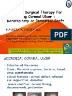 Choice of Surgical Therapy for Perforating Corneal Ulcer
