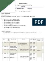 Course Plan -FEM