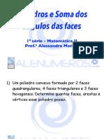 Slides Revisando Poliedros e Soma dos ângulos Das Faces