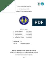 Laporan Praktikum Lilin Aromaterapi Kel.3 Kelas 3A 2016