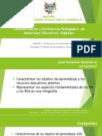 Objetos de Aprendizaje y Recursos Educativos Abiertos Ppt - Copia
