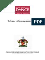 RAD Portuguese Style Sheet