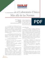 6.-Calidad en El Laboratorio Clínico Mas Alla de Las Normas
