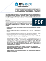 41 Micro Insurance - As Per Health Regulation - Micro Insurance Wording