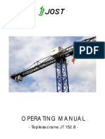 JT152.8 Operating Manual