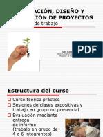 Sesion 1 Formulación, Diseño y Evaluación de Proyectos