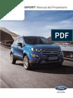 Fch Manual Ecosport