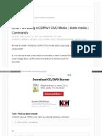Format Dvd Rw Linux