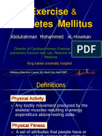 Exercise and Diabetes Mellitus Alhowikan