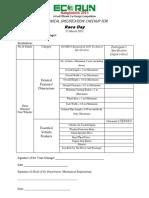 Technical Specification Checkup for ECORUN Bangladesh (1)