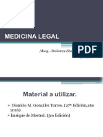 Medicina Legal Leccion i