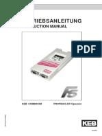 F4 Profibus to F5 Profibus Cpf5010k000_gb
