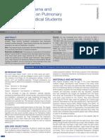 Effect of Pranayama and Suryanamaskar on Pulmonary Functions in Medical Students (KARTHIK, 2014)