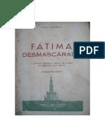Fátima Desmascarada - João Ilharco