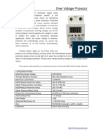 Digital Over Voltage Protector HDP