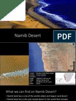 Namib Desert Ppt
