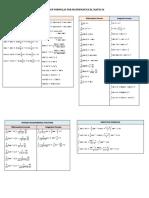 List of Formulas for Mathematics CFS IIUM