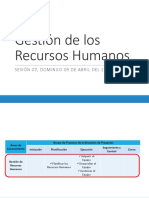 7. Gestión de Los Recursos Humanos
