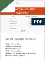 INDIKATOR-INDIKATOR KESEHATAN
