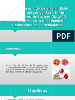 La Leucemia en Adultos INCART