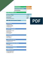 02.SAP GRC 10 Course Content Details