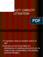 Science and Technology - Product and Liability