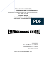 Emergencias Orl