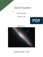 Galactic Fountain