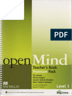 Open Mind Study Book Teacher -