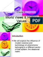 world views and human values regarding science and technology