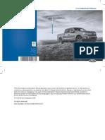 2018 Ford F 150 Owners Manual Version 3 Om en US en CA 01 2018 V3