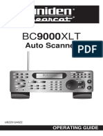 Uniden Bearcat BC9000XLT (Manual)