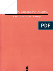 Karl Christian Felmy - Teologia Ortodoxa