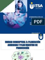 UT 3 Planeacion Agregada y Plan Maestro de Produccion IU 2016 V1