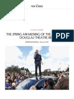 The Spring Awakening of the Marjory Stoneman Douglas Theatre Kids _ the New Yorker