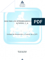 SEGUROS ALTAMIRA - Guía Para Intermediarios