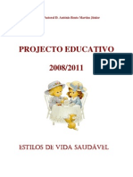 Projecto Educativo Estilos Vida Saudavel 2008-2011