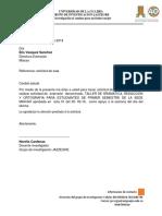 Oficio Proyecto de Extension Norelys Redaccion y Ortografia.