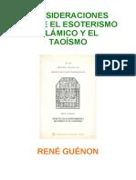 -Guénon-Esoterismo Islámico y Taoísmo.pdf