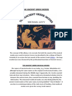 The Ancient Greek Modes Insert Notes1