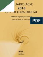 Anuario AC/E 2018 De Cultura Digital