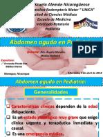 Fernanda Pineda Gea - Abdomen Agudo en Pediatería.