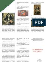El Barroco Colonial y Su Influencia en La Pintura Venezolana