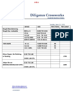 Diligence Pricestructure June 12