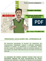 Procesos Auxiliares Del Aprendizaje