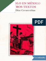 El Diablo en Mexico y Otros Textos - Juan Diaz Covarrubias (1)