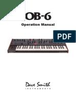 OB 6 Operation Manual