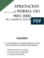SEMANA 3  INTERPRETACION DE LA NORMA ISO 9001.ppt